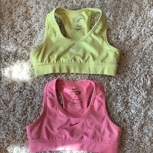 Nike Other - Youth small nike sports bras